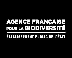 Vidémo, agence vidéo à Brest - nos clients : Agence française de la biodiversité